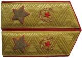 Shoulder straps,insignia, buttonhole Infantry