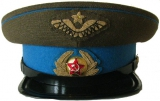 Caps of the Soviet Air Force