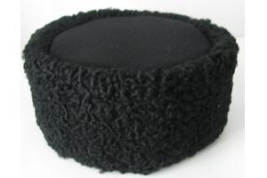 Круглая барашковая шапка для нижних чинов образца 1881 года, Россия копия