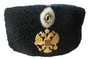 Папаха офицерская РИА 1881-1907 г , копия