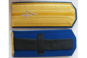 Shoulder straps Kharkov 4th Uhlan regiment of the Russian Imperial Army, Repro