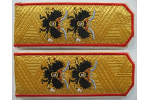 Shoulder straps Vice-Admiral of the Russian Imperial Navy, type 1893-1917 , Imperial Russian Army, WW1, Replica