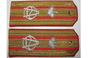 Shoulder straps of Colonel 21st East-Siberian Infantry Her Majesty the Empress Alexandra Feodorovna Regiment, Replica