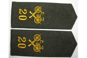 WW1 Shoulder straps of scooter troops of the Russian Army, Replica