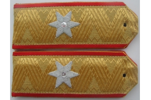 WW1 Shoulder straps Greek Major General , Replica
