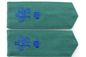 WW1 Hiking shoulder straps cossak(soldier) 6th Kuban plastun battalion Repo