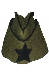 Пилотка командного и начальствующего состава образца 1935 года, Химические войска, СССР, копия