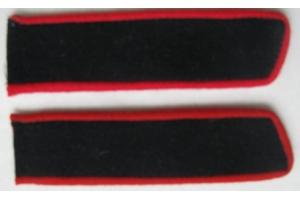 Петлицы образца 1936 года суконные, Рядовой, артиллерия, СССР, копия