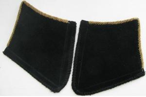 Петлицы образца 1936 года на шинель/кожаный френч/пальто, комсостав, автобронетанковые войска, артиллерия, технические и химические войска СССР, копия