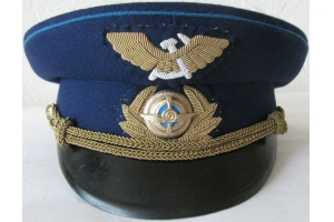 Фуражка высшего начсостава гражданской авиации, образца 1965 года, СССР, копия