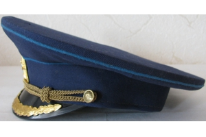 Фуражка высшего начальствующего состава ГА образца 1974 года, копия, СССР