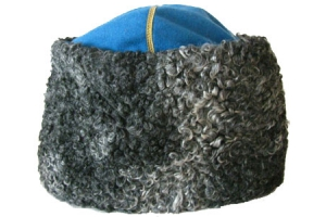 """Marshals' and generals' """"papacha"""" fur hat of 1940 pattern, Red Army, WW2, Replica"""