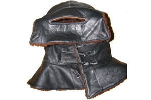 The approved sketch of the furn leather helmet, July 10, 1923, Air Force, Red Army, Replica