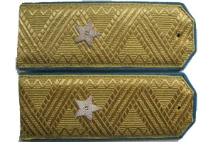 Shoulder straps of major General of aviation of the red Army 1943 type, WW2, Replica