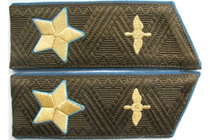 Air Marshal shoulder boards of 1983 pattern, Soviet Union, Replica
