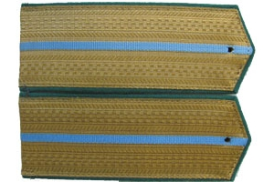 Everyday shoulder-straps Junior officers of the Border Troops Aviation 1943 type, Red Army, WW2, Replica
