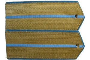 Everyday shoulder-straps Junior officers of Aviation/airborne forces of the red army 1943 type, WW2, Replica