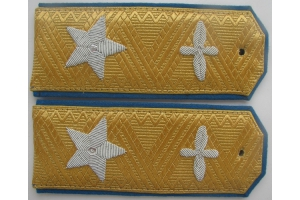 Every-day shoulder straps for air marshals Red Army, 1943 type, WW2, Replica