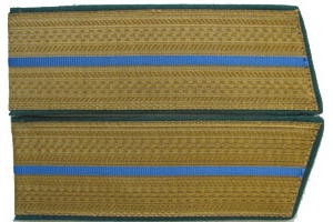 Everyday shoulder-straps Junior officers of aviation/airborne forces Red Army, Replica