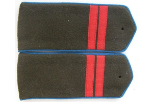 Field straps Junior Sergeant aviation/airborne forces Red Army, 1943 type, WW2, Replica