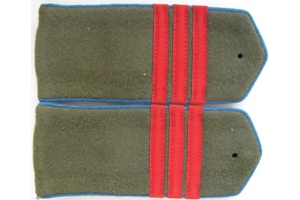 Field straps Sergeant aviation/airborne forces Red Army, 1943 type, WW2, Replica
