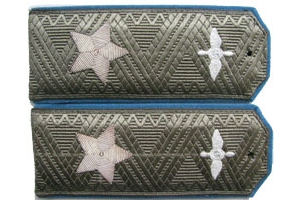 Field shoulder boards for air marshals Red Army, 1943 type, WW2, Replica