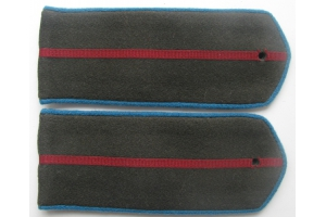 Shoulder straps field Junior officers of the aviation/airborne forces 1943 type, WW2, Replica