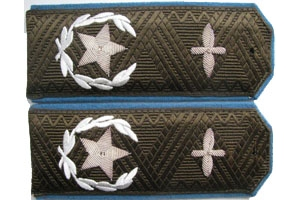 1943-pattern field shoulder boards for Chief Air Marshal Red Army, WW2, Replica