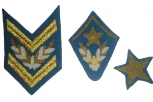 Set insignia Air Marshal type 1940, Red Army, Soviet Union, Replica