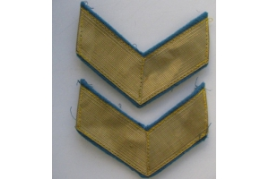 Shoulder patches on the uniform of General Aviation of the red army 1940 type, WW2, Replica