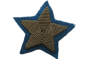 Shoulder patch star of General Aviation type 1940, WW2, Replica