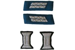 Set of insignia for parade uniform of the senior officers Red Army, WW2, Replica