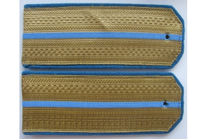 Everyday shoulder-straps junior officers (aviation/airborne forces) the Red Army, 1943 type, WW2, Replica