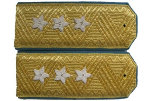 Dress shoulder straps of Colonel General air force Red Army 1943 type, WW2, Replica