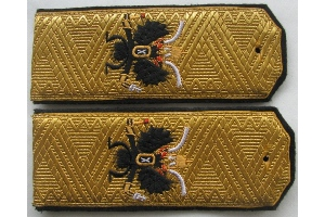 Shoulder straps Rear-Admiral of the Russian Imperial Navy, Imperial Russian Army, WW1, Replica