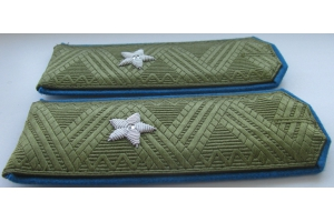 Field service shoulder straps of major General of air force red army 1943 type, WW2, Replica