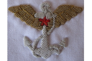 Shoulder sleeve insignia for the Soviet air force, Military Balloonist the tethered and free balloon 1924 type, Replica