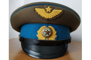 Peak cap for generals of various brabches of the Soviet Army Air Force, M1948, Replica