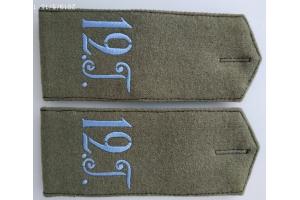 WW1 Shoulder straps of the 12th hussar regiment Replica