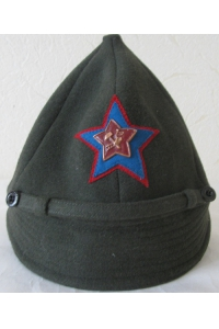 """Hat """"budenovka"""" ratings 1922 type Aviation Red Army WW1 Replica"""
