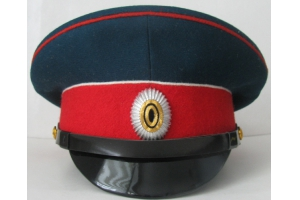 WW1 Cap of the officer of the 1st regiment of the infantry division of the RIA Replica