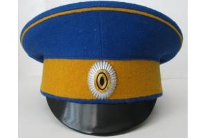 WW1 Cap of the officers of the first Ukrainian regiment named. Bogdan Khmelnitsky, Replica