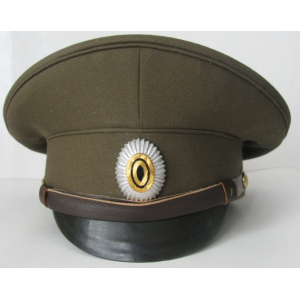 WW1 Imperial Russian Army Officers Cap M1914 Replica  With badge