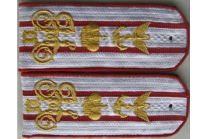 Shoulder straps Balloonists type 1914, the Russian Imperial Army, WW1, Repro
