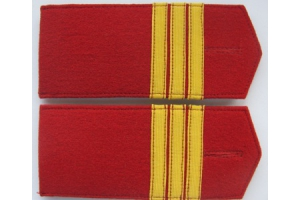 Epaulettes, shoulder straps Senior non-commissioned officer of the life guards sapper battalion, Imperial Russian Army, Repro