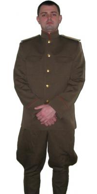 Комплект походной формы офицера пехоты образца 1914 года, РИА, копия