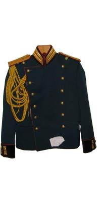 Парадный китель обер-офицера Артиллерии образца 1907 года, Российской Императорской Армии, Копия