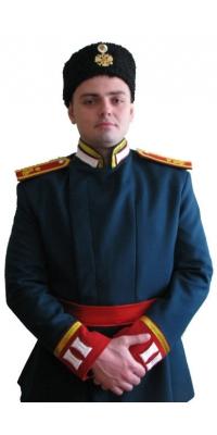 Парадный китель кадета 3-ого Московского Императора Александра II кадетского корпуса, копия