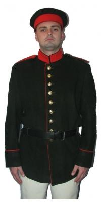 Полевая форма нижних чинов пехоты образца 1853 года, РИА,копия