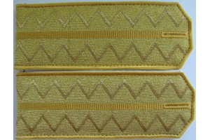 Braided shoulder straps of the 4th hussars regiment Mariupol Empress Elizabeth Petrovna, Russian Imperial Army, Replica